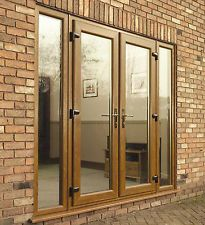 Light Oak uPVC EXTERNAL FRENCH DOORS - NEW, NOT Flat Pack!! #001