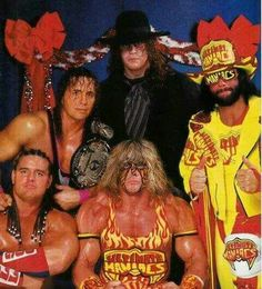 The Old Days of The WWF..