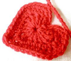 valentine garland: free crochet patterns | make handmade, crochet, craft