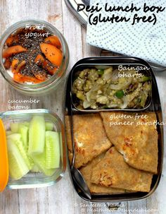 Healthy Snacks For Work To Keep You Focused - NutriSnackers Indian Lunch Box, Lunch Recipes Indian, Lunch Menu, Lunch Snacks, Kid Lunches, Snack Box, Baby Food Recipes, Cooking Recipes, Quick Recipes
