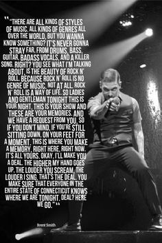 shinedown quotes | Brent Smith says this quote at every single concert they do. This one ...