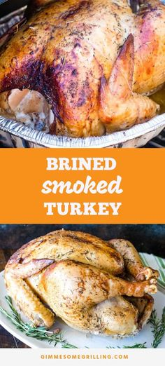turkey recipes Smoked Turkey is an amazing way to mix up your turkey recipe! The flavor from this brined turkey that is prepared on a Traeger electric smoker is AMAZING! Mix things up and make this turkey for Thanksgiving this year! Best Turkey Brine, Best Turkey Recipe, Easy Turkey Recipes, Smoke Turkey Recipes, Easy Thanksgiving Recipes, Recipe For Smoking Turkey, Turkey Brine Recipe For Smoker, Traeger Smoked Turkey Brine Recipe, Easy Smoked Turkey Recipe