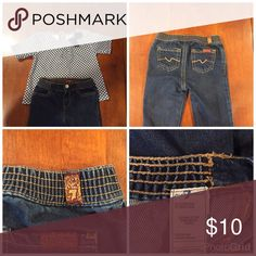 DESIGNER BABY JEANS 👖Two sizes 7 for ALL MAN KIND in size 3m and 9m. 7 For All Mankind Bottoms Jeans