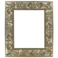 "16"" x 20"" Vintage Silver Open Frame"