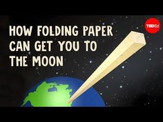 Exponential Growth: How Folding Paper Can Get You to the Moon Ted Ed Youtube, Exponential Growth, Project Based Learning, Negative Emotions, Ted Talks, Elementary Education, Earth Science, You Got This, Moon