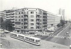 Intersectia Dorobanti – Stefan cel Mare (Perla) probabil in anii '80