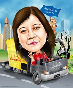 The Bussiness Caricature