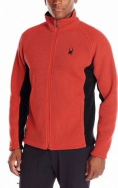 Spyder Foremost Full Zip Heavy Weight Core Sweater Fleece Lined jacket MSRP $169 | Clothing, Shoes & Accessories, Men's Clothing, Sweaters | eBay!