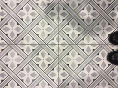 Laura Ashley Heritage Collection Mr Jones Charcoal Patterned Floor Tile 331 x click now for more info. Modern Flooring, Flooring Ideas, Kitchen Flooring, Hall Tiles, Buy Tile, Wood Square, Floor Patterns, Hallway Decorating, Color Tile