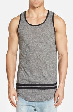 THE+NARROWS+Slim+Fit+Varsity+Stripe+Marled+Tank+available+at+#Nordstrom