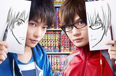 "[Trailer] Takeru Satoh x Ryunosuke Kamiki, J live action movie ""BAKUMAN"". Release: 10/03/2015 https://www.youtube.com/watch?v=aEwVBKhJjeQ"
