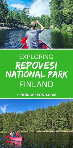 There's no better way to explore Repovesi National Park in Finland than by canoe. Read this article for tips on canoe rental, camping, eating & transport. #travel #travelblogger #bestofeurope #europetravel | Best of Finland | Highlights of Finland | #nationalpark | Camping in Europe | Backpacking Europe | Europe on a budget | #europecamping