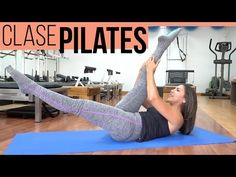 Exercise Back Pain Away Pilates Mat, Joseph Pilates, Studio Pilates, Pilates Videos, Workout Videos, Stomach Muscles, Core Muscles, Pilates Reformer Beneficios, Trx Yoga