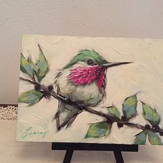 Print of original oil painting of a chickadee by Andrea Lavery, bird art print, chickadee art print Fine Art Print of original oil painting of a Bird Paintings On Canvas, Bird Painting Acrylic, Hummingbird Painting, Painting & Drawing, Watercolor Paintings, Canvas Art, Oil Paintings, Bird Drawings, Bird Art
