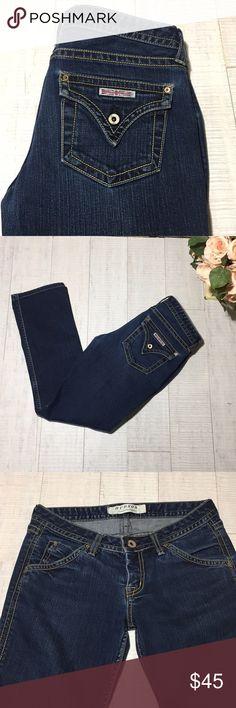 "💗 Hudson skinny Premium Denim Jeans 💗 Excellent condition Hudson Jeans 98% cotton, 2% elastan ▪️Waist: 15"" ▪️Rise: 7.5"" ▪️Inseam: 28.5""  P5 Hudson Jeans Jeans Skinny"