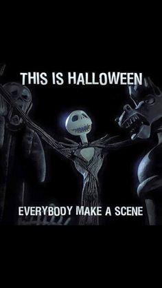 Jack And Sally, Jack Skellington, Nightmare Before Christmas, Scene, Halloween, Movie Posters, The Nightmare Before Christmas, Film Poster, Billboard