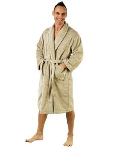 TowelSelections Egyptian Cotton Terry Bathrobe for Women and Men Made in Turkey $59.95 (40% OFF) + Free Shipping