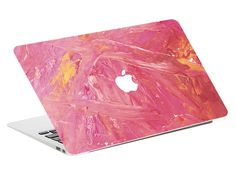 Macbook Decal Sticker - Pink New Macbook Air, Macbook Skin, Newest Macbook Pro, Macbook Decal Stickers, Decals, Macbook Pro Touch Bar, Paypal Credit Card, Office Ideas, Adhesive