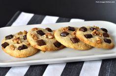american cookies American Cookie, Macarons, Doughnut, Waffles, Ice Cream, Cookies, Dinner, Breakfast, Desserts