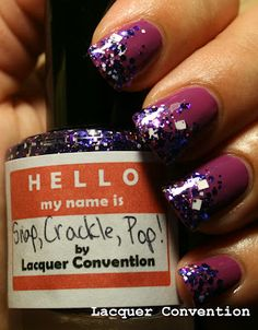 The Broad Stroke: Lacquer Convention: Snap, Crackle, Pop!