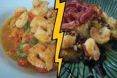 Shrimp and Polenta 2 ways!
