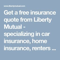 Liberty Mutual Insurance Quote Winter Storm Safety Tips Before During And After A Winter Storm Www