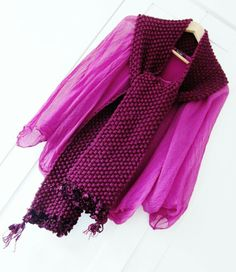 Handmade scarf by One Purl Row
