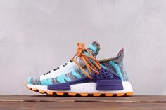 "53348cea5 Pharrell Williams x Adidas Originals Hu NMD ""Afro Pack"" BB9528 Adidas Shoes  Nmd"