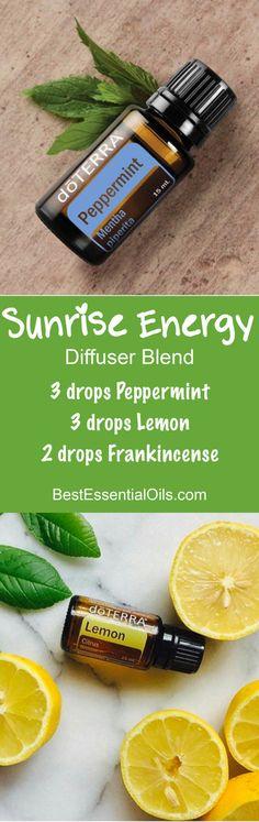 Sunrise Energy doTERRA Diffuser Blend