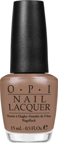 "OPI - Sun Tan Tonio - Perfect neutral shade for summer...not too dark and it will go good with an early summer ""almost tan""."
