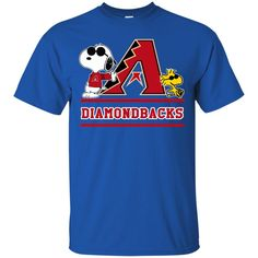Arizona Diamondbacks T shirts Snoopy Hoodies Sweatshirts