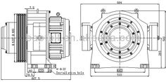 Highly Efficient Gearless Elevator Traction machine /motor for Passenger