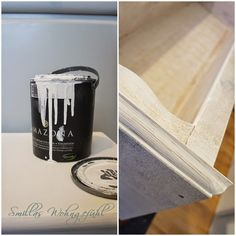 Smillas Wohngefühl: DIY und Bücherliebe: Kreidefarbe & Kalkwachs