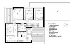 Image of: modern home architecture blueprints vector modern house floor plans the house plan shop Modern House Floor Plans, Modern House Facades, Simple House Plans, Modern Architecture House, Modern House Design, Architecture Blueprints, Modern Mansion, Facade House, Large Homes