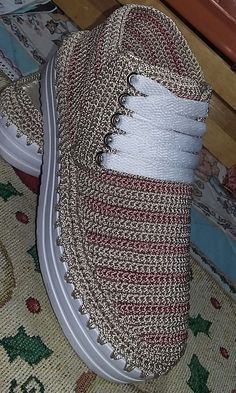 Crochet Shoes Pattern, Shoe Pattern, Crochet Sandals, Crochet Boots, Toms Style, Diy Crafts Crochet, Knit Shoes, Knitted Slippers, Loafers