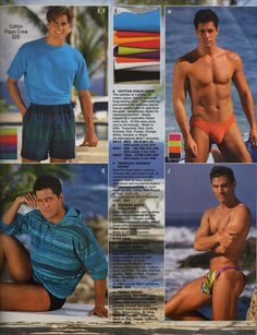 52178ba640 International Male Catalog Spring 1980 | Homme in 2019 | 80s fashion ...