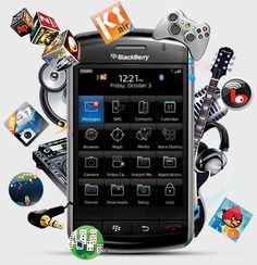 Fulfill your business needs by your various apps in your Blackberry phone