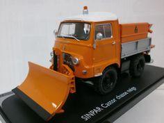 エリゴール 1/43 SINPAR キャスター 除雪車 オレンジ (2232-55)_画像1
