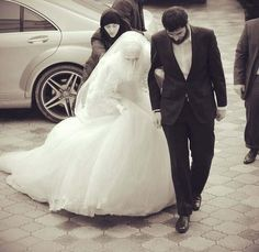 Muslim bride n groom