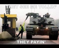 Good guy tank commander