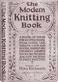 The Modern Knitting Book Published 1915  Flora Klickmanns Home Art Series The Medifast Plan
