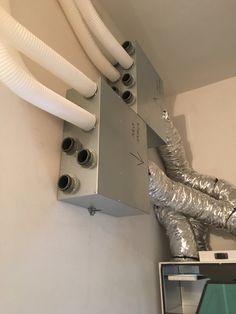 Distributori di mandata e  ripresa aria in abitazione