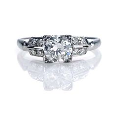 Leigh Jay Nacht Inc. - Circa 1930's Engagement Ring - 2R430