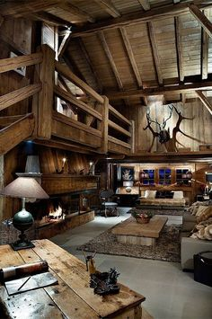 Cabin Rustic. Add fire glass gemstones from @Home Depot for an eco-friendly and elegant touch. http://thd.co/16CEHLv