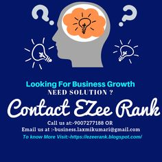 EZee Rank-is a digital/online marketing agency that offers SEO Services,PPC Services,Social Media Marketing Services,Web Design Services,Digital Services and other valuable services.We create a digital marketing strategy tailored to your business needs.Our professionals are highly goal-oriented therefore we assure you that you will not get any vague timeline as far as results are concerned.We provide our clients classic and satisfactory service in a very minimal and affordable price. Online Marketing Agency, Digital Marketing Strategy, Internet Marketing, Social Media Marketing, Web Design Services, Seo Services, Text Overlay, Video Site, You Youtube