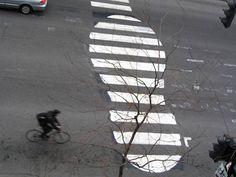 Roadsworth Street Art – Quand l'Art envahit le sol | Ufunk.net