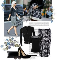 """Fashion week - street style"" by sarapires on Polyvore"