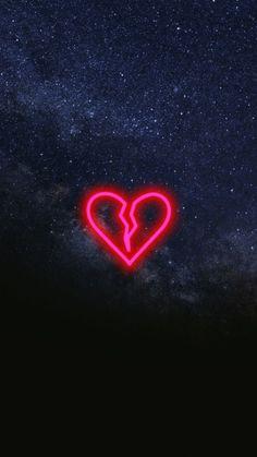 Broken Heart Wally Pinterest Wallpaper, Neon and Phone
