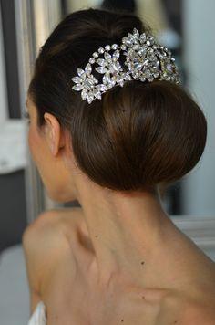 Just stunning! Elena Designs Rhinestone Wedding Hair Comb E769 - Silver, Gold - Affordable Elegance Bridal -