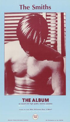 The Smiths album (February 1984) The American actor and sex symbol Joe Dallesandro in a scene from the Paul Morrissey film Fleash (1968)